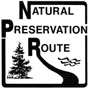 20 picas - Insert National Preservation Route marker here