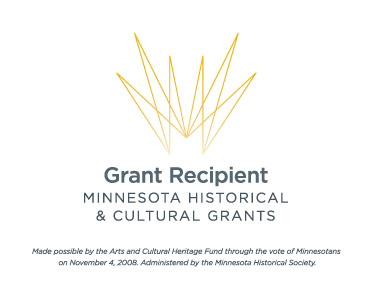 Minnesota Historical and Cultural Grant recipient logo